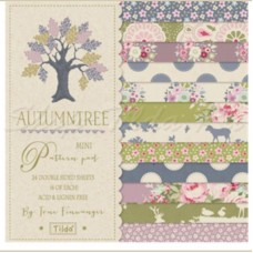 НАБОР БУМАГИ 15*15 MINI PATTERN PAD AutumnTree